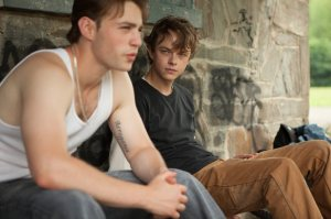 Emory Cohen as AJ and Dane DeHaan as Jason