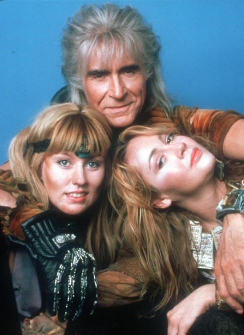 Ricardo Montalban: dude with a tan and ladies man.