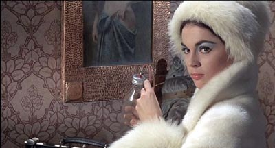 Vulnavia, beautiful assistant to the titular Dr Phibes, played by horror alumni Vincent Price.